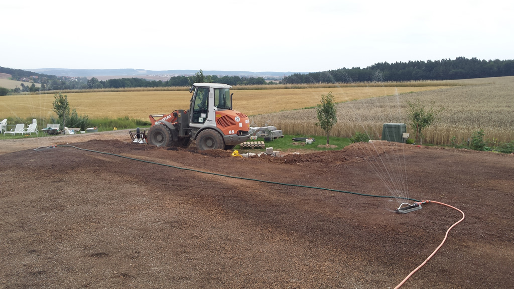 Rasen anlegen der storch baut for Rasen anlegen